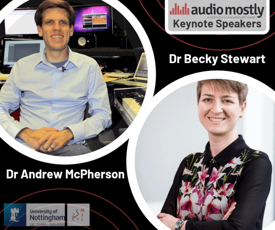 Keynote Speakers - Audio Mostly
